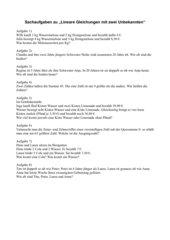 Textaufgaben zu linearen Gleichungen mit zwei Unbekannten