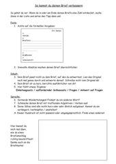 Hilfe zur Brief-Überarbeitung