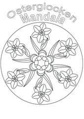 Mandala - Osterglocken
