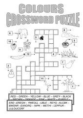 Crossword Puzzle Colours