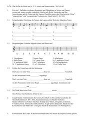 Arbeitsblatt Noten, Pausen, Haydn und Formelemente