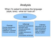 Präsentation: How to analyse style and tone