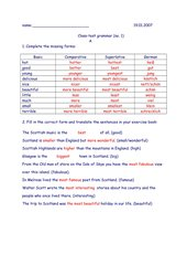 Grammatiktest Englisch