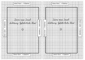 Einführung der Heftführung für Mathematik in Klasse 2 ( 5mm x 5mm)