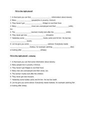 Pluralformen im Englischen