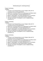 Mathematikprojekt Schulhofgestaltung