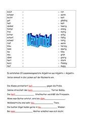 Zusammengesetzte Adjektive, Adjektiv + Adjektiv