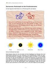 Sternenreise - Rechenspiel mit den Grundrechenarten