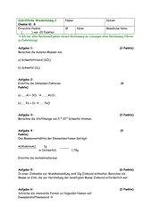 Schriftliche Wiederholung Kl.8