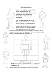 Menschen / Personen / Körper zeichnen