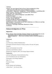 Sehenswürdigkeiten von Wien: Word - Powerpoint (2010)