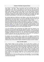 Texte zum Judentum, Islam und Christentum