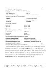 Weimarer Reichsverfassung (WRV) - Kurztest