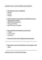 Test zum Bauseteine Lesebuch 3 und 4