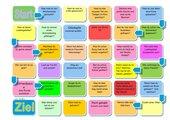 Gesellschaftsspiel-mit Fragen  und mit kleinen Aufgaben