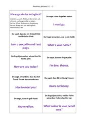 phrases U 1-3