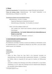 UR-Entwurf: Kinderarbeit in der Industrialisierung