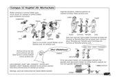 Illustrierte Wortschatzübung zu Campus 1, Ausgabe C, Kapitel 20