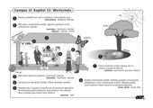 Illustrierte Wortschatzübung zu Campus 1, Ausgabe C, Kapitel 12