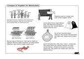 Illustrierte Wortschatzübung zu Campus 1, Ausgabe C, Kapitel 15