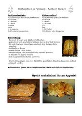 Möhrenauflauf - porkkanalaatikko