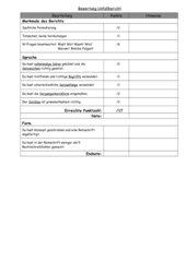 Bewertung Unfallbericht
