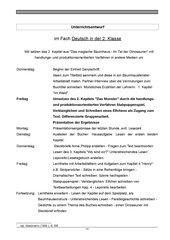 Leseförderung mit handlungss- und produktionsorientierten Verfahren in der 2. Klasse