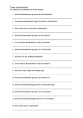 Fragen zu Deutschland