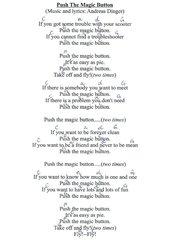 Push The Magic Button  -  lyrics and chords