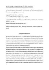 Schlangentext Groß-/Kleinschreibung + Zeichensetzung