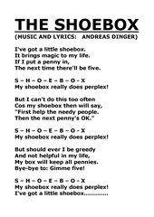 The Shoebox - Lyrics and chords