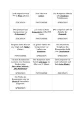 Activity-Spiel zu Schubert