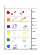 Logico Primo Addition mit Zahlen bis 6