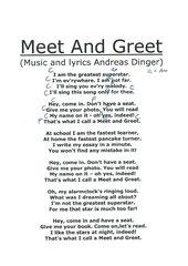 Meet And Greet - Lyrics