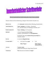 Innerbetriebliche Kommunikation