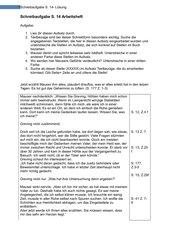 Schreibaufgabe -Lösung zur Prüfungslektüre Grafeneck