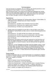 Technikaufgaben Kl. 7, 9, 10 HS