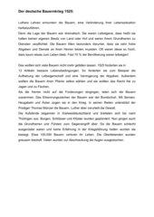Infotext: Der deutsche Bauernkrieg
