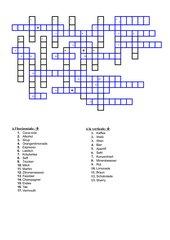 Kreuzworträtsel:  Boissons