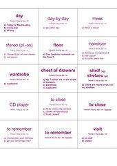 """Vokabelkarten/Lernkartei: Lektion """"Theme 4: """"Day by day"""" des Lehrbuches"""