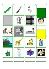 Wort-Bild-Zuordnung mit besonderen Buchstaben/Lauten (Teil 1)