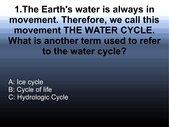 Quiz - Watercycle