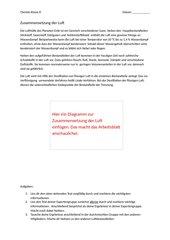 Expertenpuzzle Luftzusammensetzung