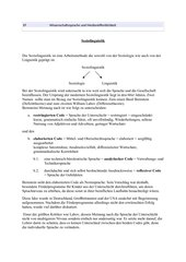 Soziolinguistik Wissenschaftssprache