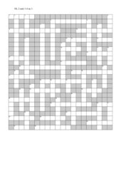 1. Kreuzworträtsel New Highlight 2, unit 1 - 4