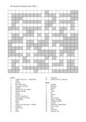 1. Kreuzworträtsel zur Geschichte