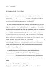 Übung zur Verwendung von Relativpronomen und Konjunktionen: Bericht über den Arenakampf von Sarius (Ursula Poznanski, Erebos)