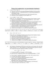 Kurvendiskussion von ganzrationalen Funktionen (schwer)