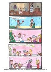 Kreatives Schreiben in der Weihnachtszeit