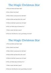 Video - The Magic Christmas Star